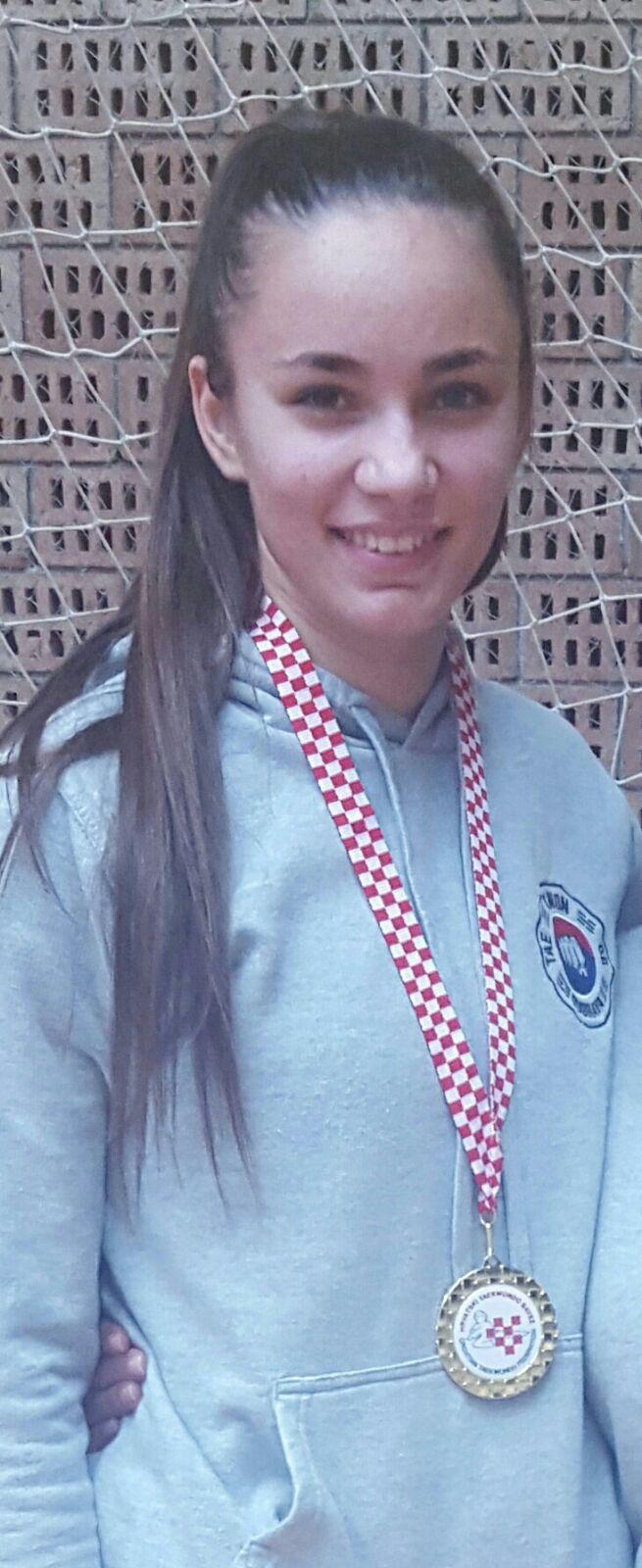Doris Pole - seniorska prvakinja Hrvatske