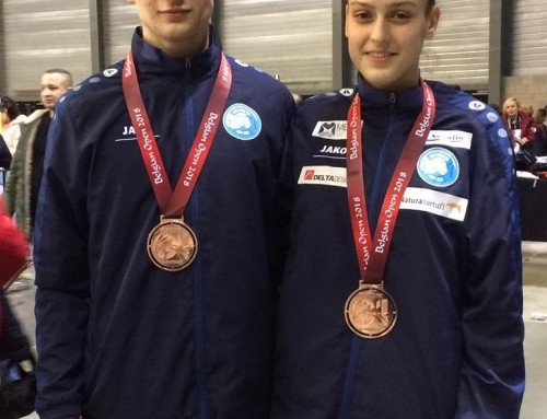 BELGIUM OPEN 2018.-6 natjecatelja 5 medalja